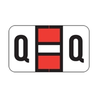 POS 2000 Label Letter Q (240/Pack)
