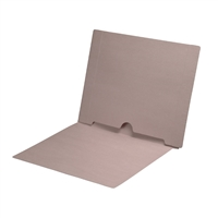 Dark Gray Folder End Tab Full Pocket 50/Box