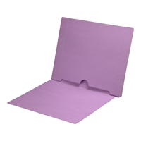 Lavender Colored End Tab Pocket Folders Part Number S-09017-LAV