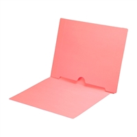 Pink Colored End Tab Pocket Folders Part Number S-09017-PNK