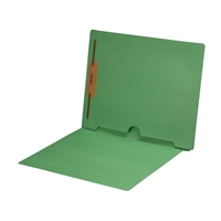 Green Colored End Tab Pocket Folders Part Number S-09018-GRN