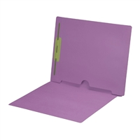 Lavender Colored End Tab Pocket Folders Part Number S-09018-LAV