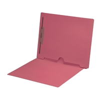 Pink Colored End Tab Pocket Folders Part Number S-09018-PNK