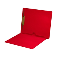 Red Colored End Tab Pocket Folders Part Number S-09018-RED