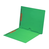 Green Colored End Tab Pocket Folders Part Number S-09019-GRN
