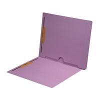 Lavender Colored End Tab Pocket Folders Part Number S-09019-LAV