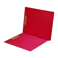 Red Colored End Tab Pocket Folders Part Number S-09019-RED