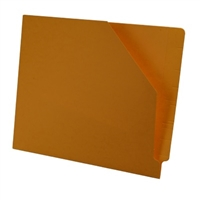 Diagonal Cut File Jacket Goldenrod 100/Box