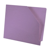 Diagonal Cut File Jacket Lavender 100/Box