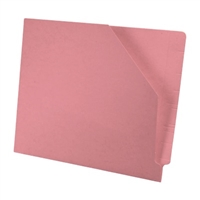 Diagonal Cut File Jacket Pink 100/Box