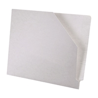 Diagonal Cut File Jacket White 100/Box