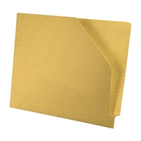 Diagonal Cut File Jacket Yellow 100/Box