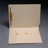 Manila Folder 11pt End Tab Left Panel Double Pocket 1 Fastener 50/Box