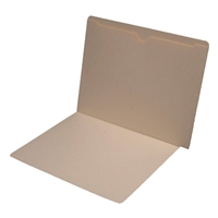 Manila Folder 11pt End Tab Double Outside-Pocket 50/Box