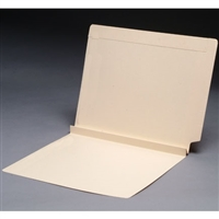 End Tab Folders, 1-1/2 Expansion, Letter Size, Manila, 50/Bx