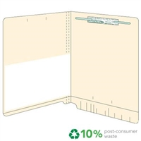 Manila Folder 11pt End Tab Left Panel Poly Pocket 50/Box