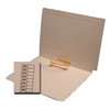 Manila End Tab Folders, Letter, 14pt, Clip Pos.5, 50/Box