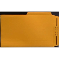 Top Tab Case Binders, Letter Size, 1/2-Cut Assorted Tabs, Goldenrod, Box/50