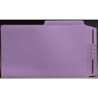 Top Tab Case Binders, Legal Size, 1/2-Cut Assorted Tabs, Lavender, Box/50