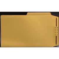 Top Tab Case Binders, Legal Size, 1/2-Cut Assorted Tabs, Yellow, Box/50