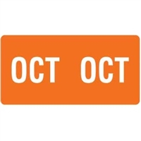 Smead ETS Month Labels, October