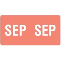 Smead ETS Month Labels, September