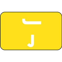 Smead ACCS Compatible Labels Letter J 100/Pack