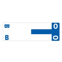 Smead Match NCC AlphaZ Color-Coded Name Labels, Letter B/O 100/Pk
