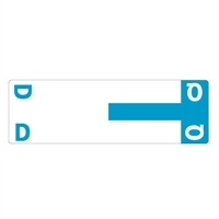 Smead Match NCC AlphaZ Color-Coded Name Labels, Letter D/Q 100/Pk