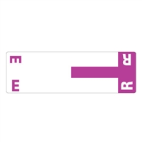 Smead Match NCC AlphaZ Color-Coded Name Labels, Letter E/R 100/Pk