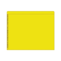 Kardex Comparable Sem-Scan Alpha, Yellow ,11pt, Letter Size, 100/Box