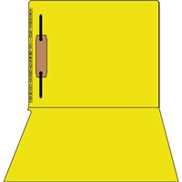 Kardex Comparable Sem-Scan Alpha, Yellow one fastener ,11pt, Letter Size, 1 Fastener, 50/Box