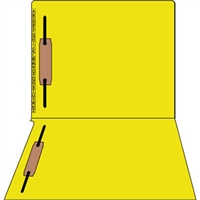 Kardex Comparable Sem-Scan Alpha, Yellow, Two fasteners ,11pt, Letter Size, 2 Fasteners, 50/Box