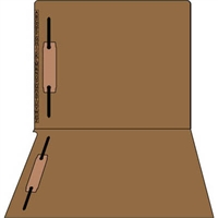 Kardex Comparable Sem-Scan Alpha, Brown, Two fasteners ,11pt, Letter Size, 2 Fasteners, 50/Box