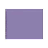 Kardex Comparable Sem-Scan Alpha, Purple ,11pt, Letter Size, 100/Box