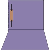 Kardex Comparable Sem-Scan Alpha, Purple one fastener ,11pt, Letter Size, 1 Fastener, 50/Box