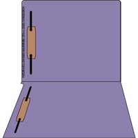 Kardex Comparable Sem-Scan Alpha, Purple, Two fasteners ,11pt, Letter Size, 2 Fasteners, 50/Box