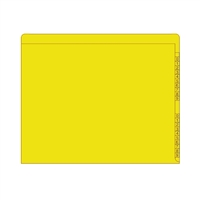 Kardex Sem-Scan Numeric, Yellow ,11pt, Letter Size, 100/Box
