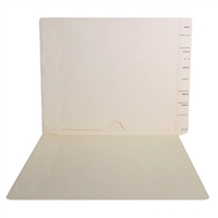 Manila End Tab Pocket Folders Part Number SWMFP-10