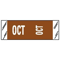 Col'R'Tab® 11880-Series Month Label Packs - October
