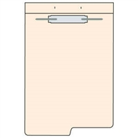 Fileback Dividers, Left Winged, 8-1/2 x 11-3/4, 100/Pack (26370)