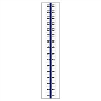 "1/2"" Numeric '1-50' Tabs, 1 Set/Pack"
