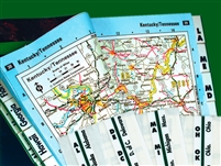 Road Atlas Index Tabs (58314)
