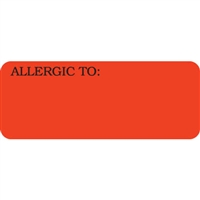 Allergic To Label  UL808