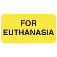 For Euthanasia Label V-AN125