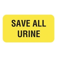 Save All Urine Label V-AN204
