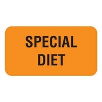 Special Diet Label V-AN223
