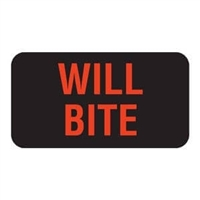 Will Bite Label, 1-5/8 x 7/8, 560/RL (V-AN244)