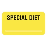 Special Diet Label, 1-5/8 x 7/8, 560/RL (V-AN254)