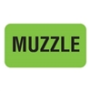 Muzzle Label, 1-5/8 W x 7/8, 560/RL (V-AN273)